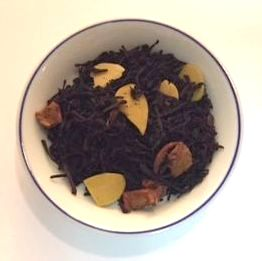 autumn black flavored tea