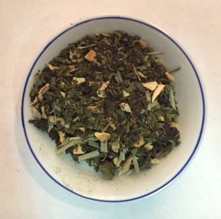 Lemon Ginger Oolong tea