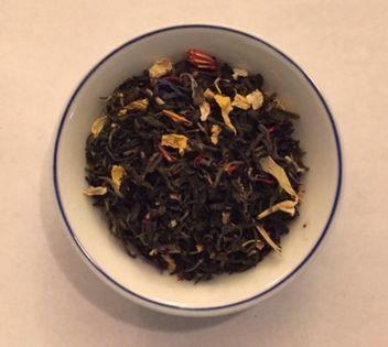 Balinese rainbow jasmine tea