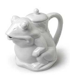 abbott frog teapot