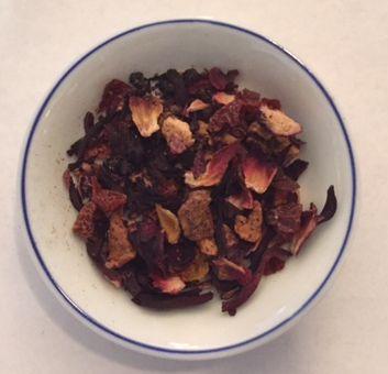 Cranberry Apple Herbal Tea