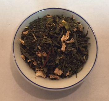 ginger high antiox green tea