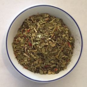 mango yerba maté herbal tea