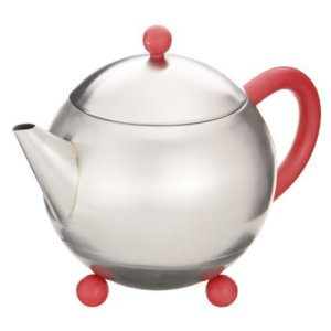 milo mayfair red teapot