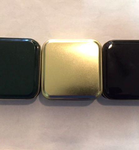 sampler tins