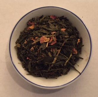 Sencha Kyoto Cherry Rose Garden green tea