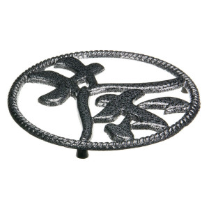 tea symbol trivet sideview