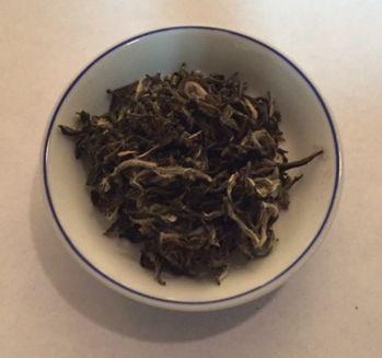white monkey paw green tea