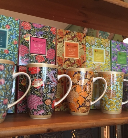 william morris all the mugs
