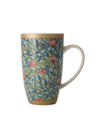 william morris pomegranate mug