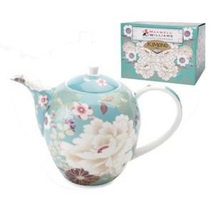 teal teapot