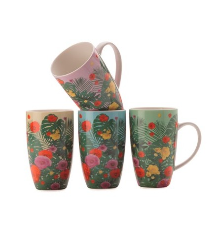 jungle juice mug set