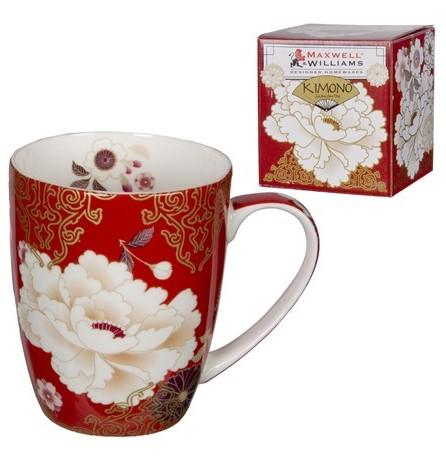 kimono red mug