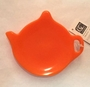 orange teabag holder