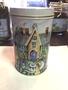 Tea Party Art Cylinder Tin