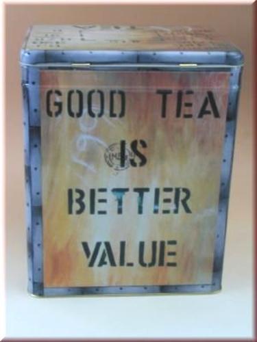 """""""Good Tea is Better Value"""" Tin"""