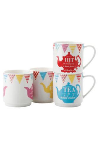 Tea Tabloids Mug Set