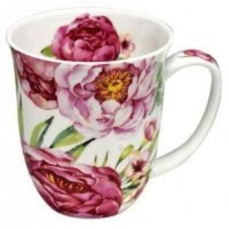 Pink Peonie mug