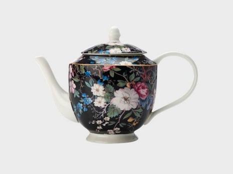Midnight Blossom 1L Teapot