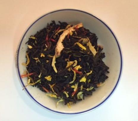 Pomegranate Vanilla Black Flavored Tea