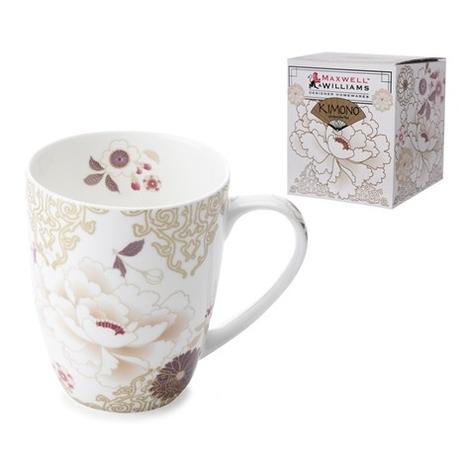 Kimono White Mug