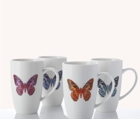Brazen Butterflies mugs