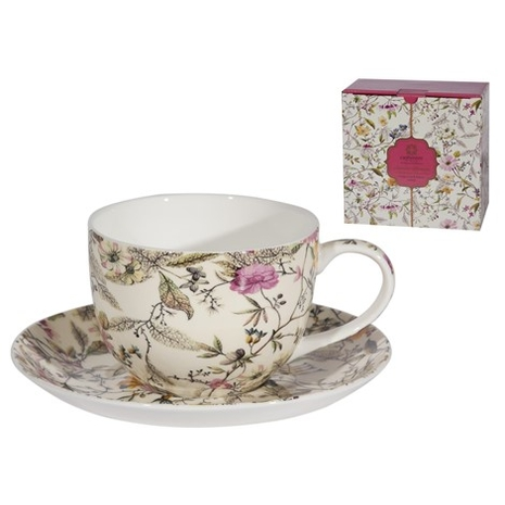 Summer Blossom Cup and Saucer