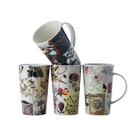 Vintage Collage mugs