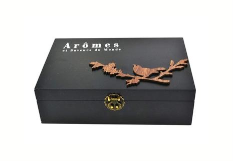"""""""Arômes et Saveurs du Monde"""" tea box"""