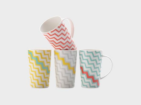 Colour Bolt Mug Set