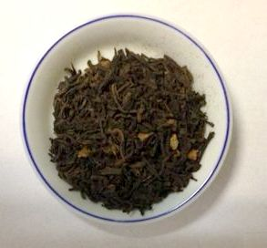 Scottish caramel pu-erh tea