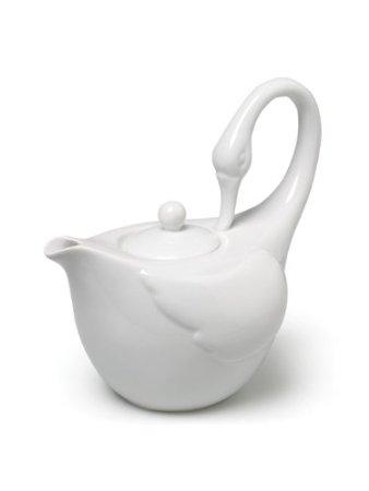 abbott swan teapot