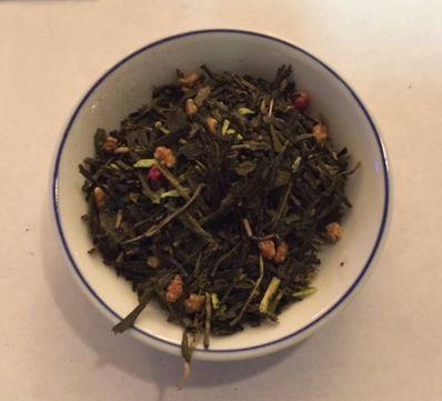 bamboo shoots green tea
