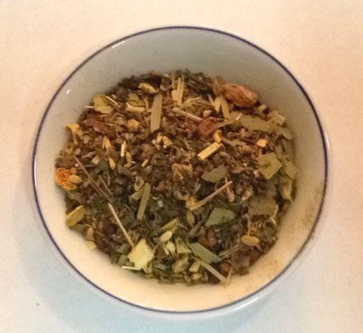 cold season wellness tea