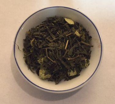 japanese lime green tea