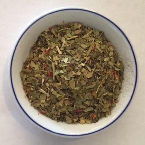 mango yerba maté herbal tea