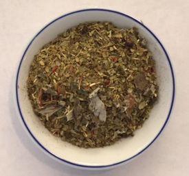 raspberry yerba maté tea